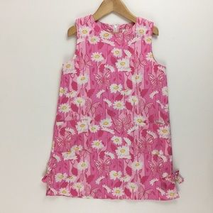 Lilly Pulitzer Shift Dress Socialite Hibiscus Pink